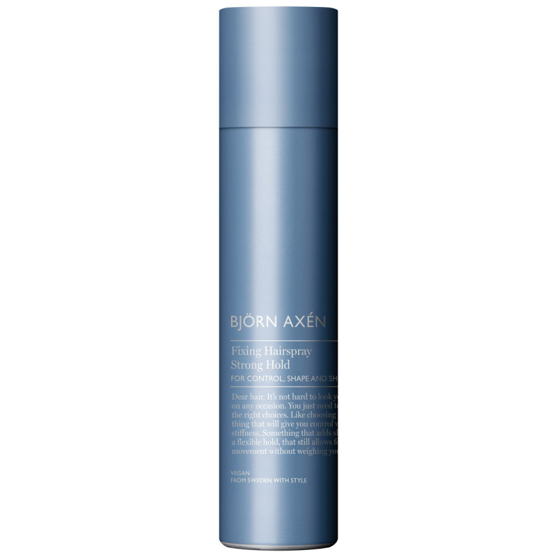 Björn Axén Fixing Hairspray Strong Hold (250ml) i gruppen Hårpleie / Styling / Hårspray hos Bangerhead.no (B053020)