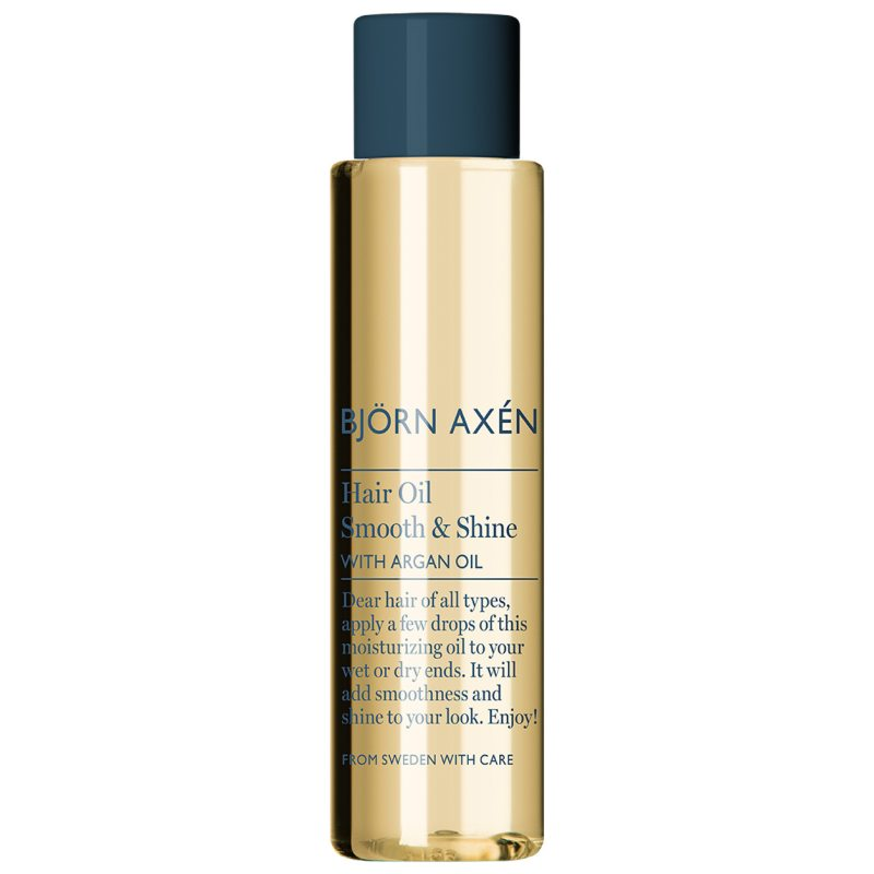 Björn Axén Hair Oil Smooth & Shine With Argan Oil (75ml) i gruppen Hårpleie / Styling / Hårolje hos Bangerhead.no (B053046)