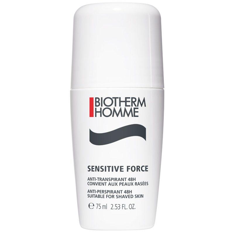 Biotherm Homme Sensitive Force Deo Roll On (75ml) ryhmässä Tuoksut / Miesten tuoksut / Deodorantit miehille at Bangerhead.fi (B053156)