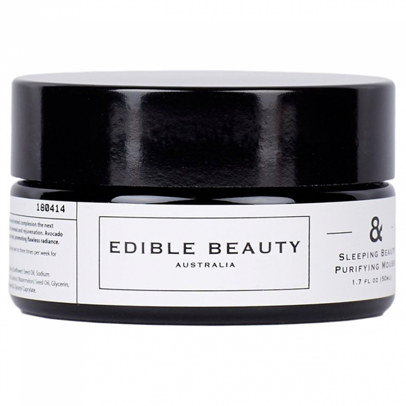 Edible Beauty & Sleeping Beauty Purifying Mousse (50ml) i gruppen Hudvård / Ansiktsmask / Foam mask hos Bangerhead (B053256)