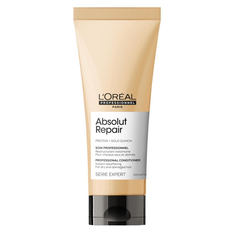 L'Oréal Professionnel Absolut Repair Gold Instant Resurfacing Conditioner ryhmässä Hiustenhoito / Shampoot & hoitoaineet / Hoitoaineet at Bangerhead.fi (B053288r)