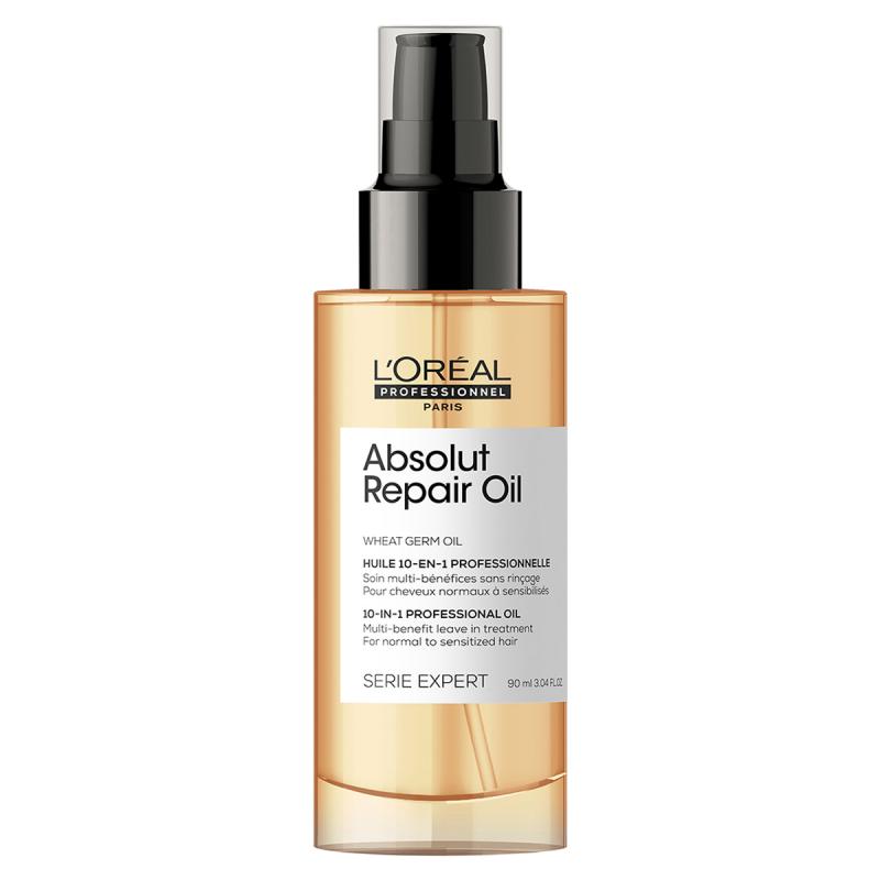 L'Oréal Professionnel Absolut Repair Gold Nourishing Serum Leave-In (50ml) ryhmässä Hiustenhoito / Hiusnaamiot ja hoitotuotteet / Seerumit at Bangerhead.fi (B053290)