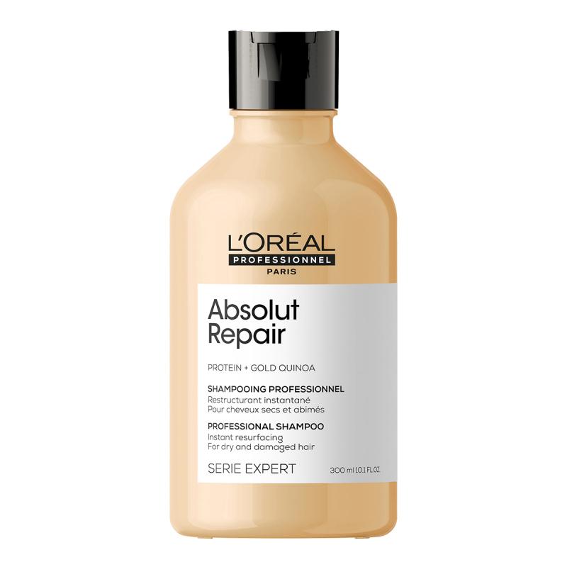 L'Oréal Professionnel Absolut Repair Gold Instant Resurfacing Shampoo ryhmässä Hiustenhoito / Shampoot / Shampoot at Bangerhead.fi (B053291r)
