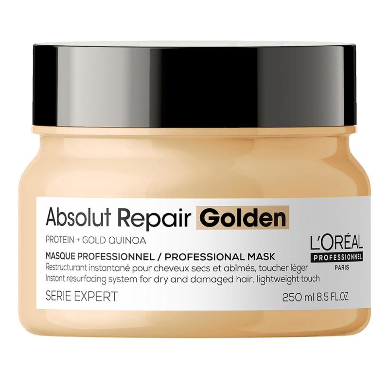 L'Oréal Professionnel Absolut Repair Gold Resurfacing Golden Masque ryhmässä Hiustenhoito / Hiusnaamiot ja hoitotuotteet / Naamiot at Bangerhead.fi (B053293r)