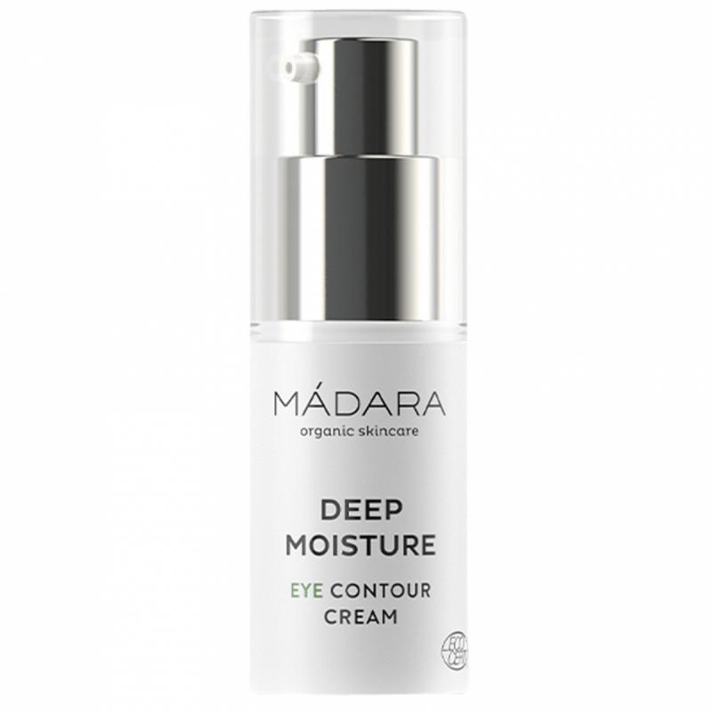 MÁDARA Deep Moisture Eye Contour Cream (15ml) ryhmässä Ihonhoito / Silmät / Silmänympärysvoiteet at Bangerhead.fi (B053331)