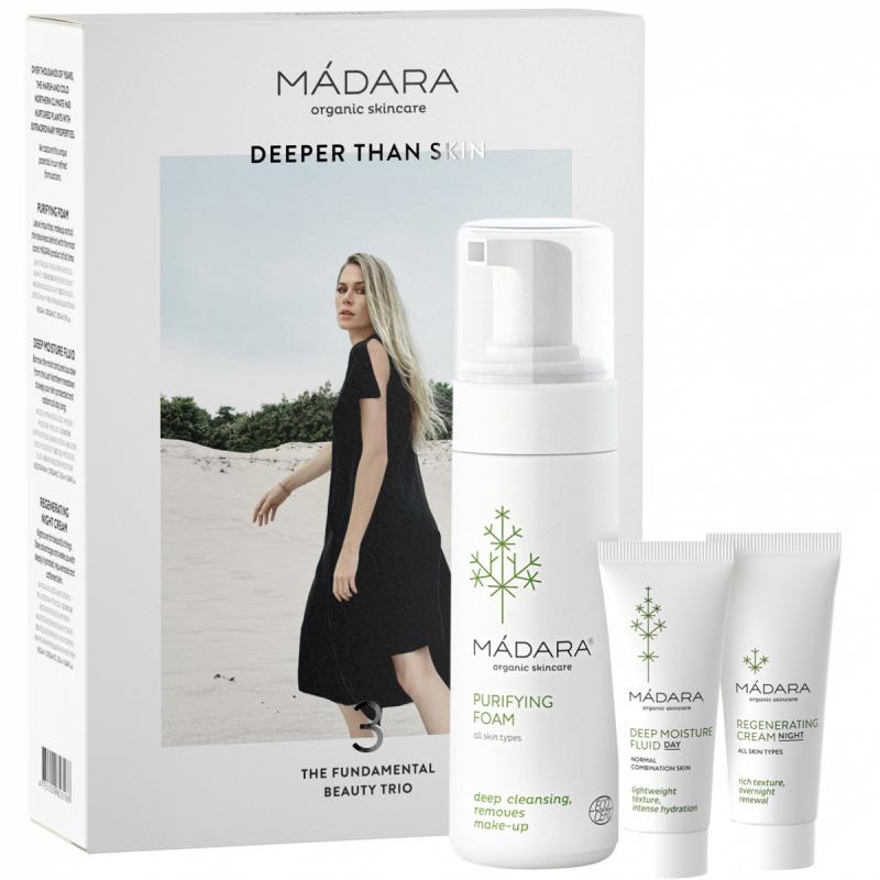 MÁDARA The Fundamental Beauty Trio ryhmässä Ihonhoito / Lahjat & ihonhoitosetit / Lahjapakkaukset at Bangerhead.fi (B053351)