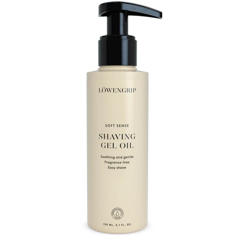 Löwengrip Soft Sense Shaving Gel Oil (150ml) ryhmässä Vartalonhoito & spa / Karvanpoisto / Karvanpoistogeelit  at Bangerhead.fi (B053422)