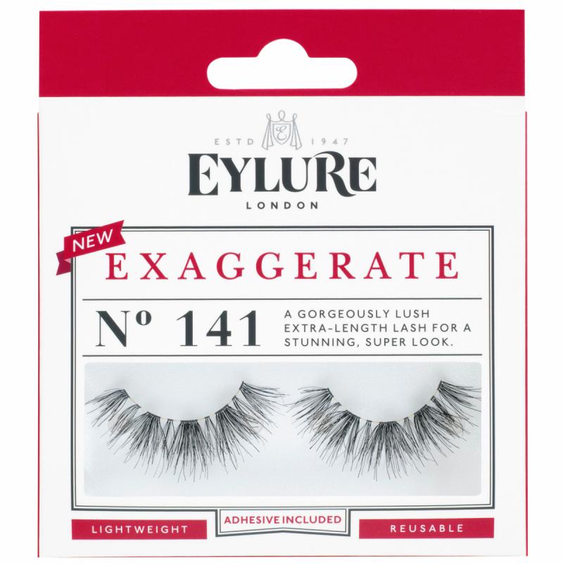Eylure Exaggerate 141 ryhmässä Meikit / Silmät / Irtoripset at Bangerhead.fi (B053531)