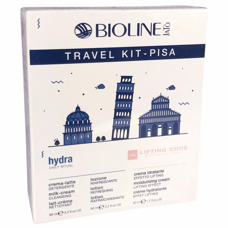 Bioline Hydra Travel Kit Pisa i gruppen Hudvård / Gift set & kits / Start kits hos Bangerhead (B053684)