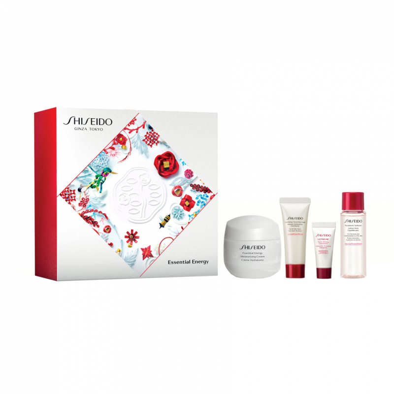 Shiseido Essential Energy Kit i gruppen Hudpleie / Gift set & kits / Gift sets hos Bangerhead.no (B053963)