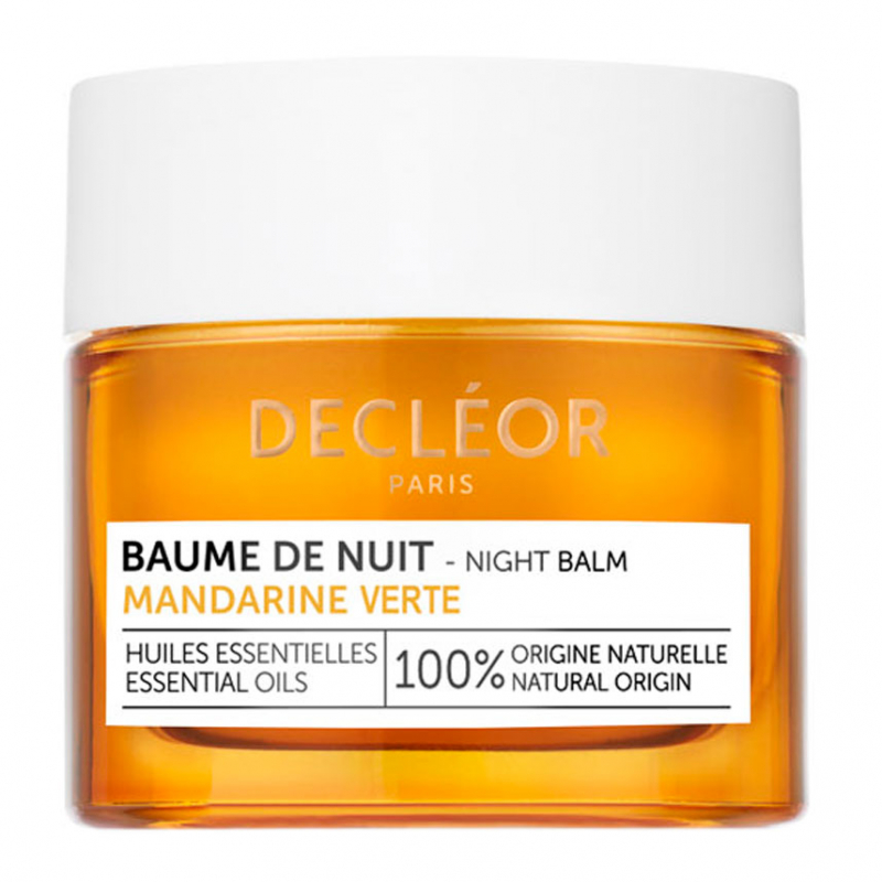 Decléor Green Mandarin Night Balm (15ml) i gruppen Hudpleie / Fuktighetskrem / Nattkrem hos Bangerhead.no (B054003)