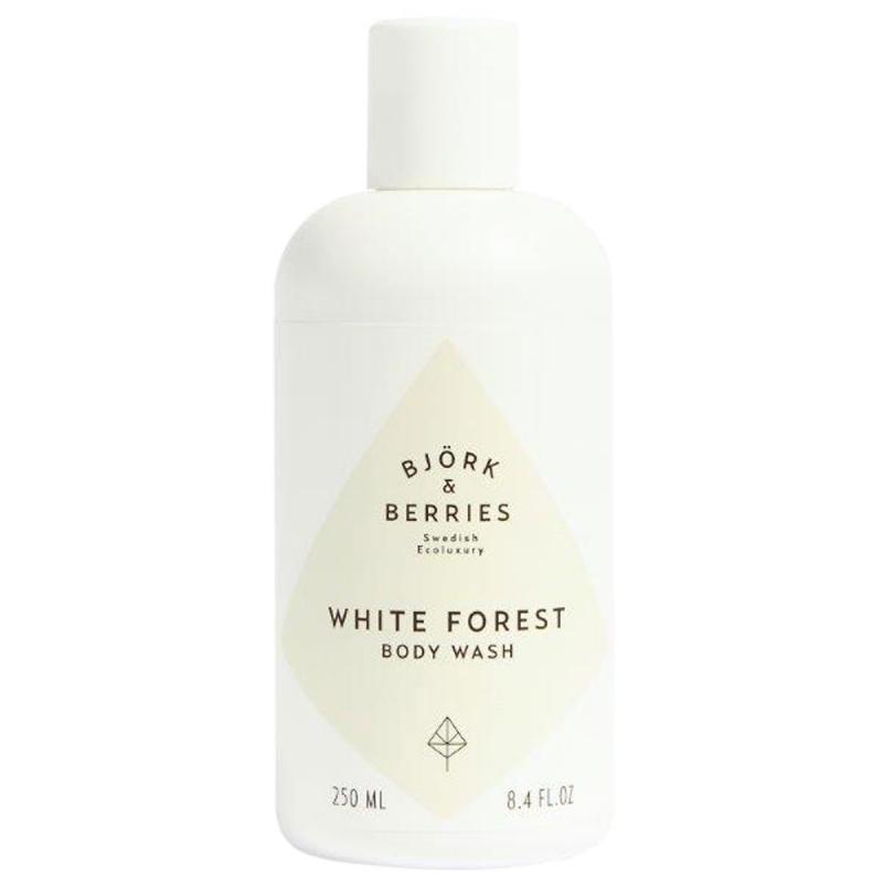 Björk & Berries White Forest Body Wash (250ml) ryhmässä Vartalonhoito & spa / Vartalon puhdistus / Kylpysaippuat & suihkusaippuat at Bangerhead.fi (B054155)