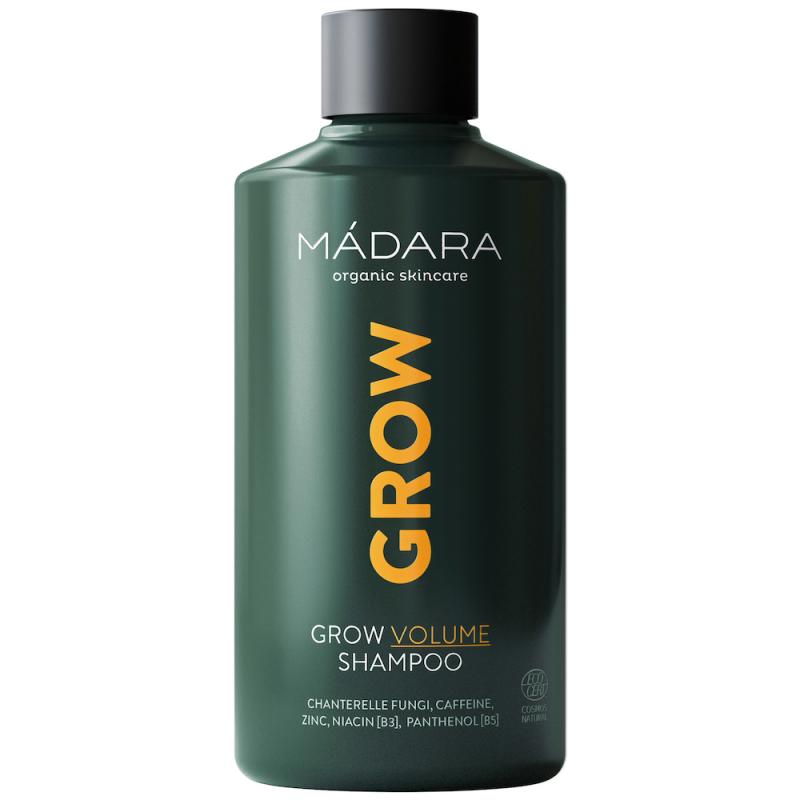 MÁDARA Grow Volume Shampoo (250ml) i gruppen Hårpleie / Hårkur & treatments / For hodebunn hos Bangerhead.no (B054185)