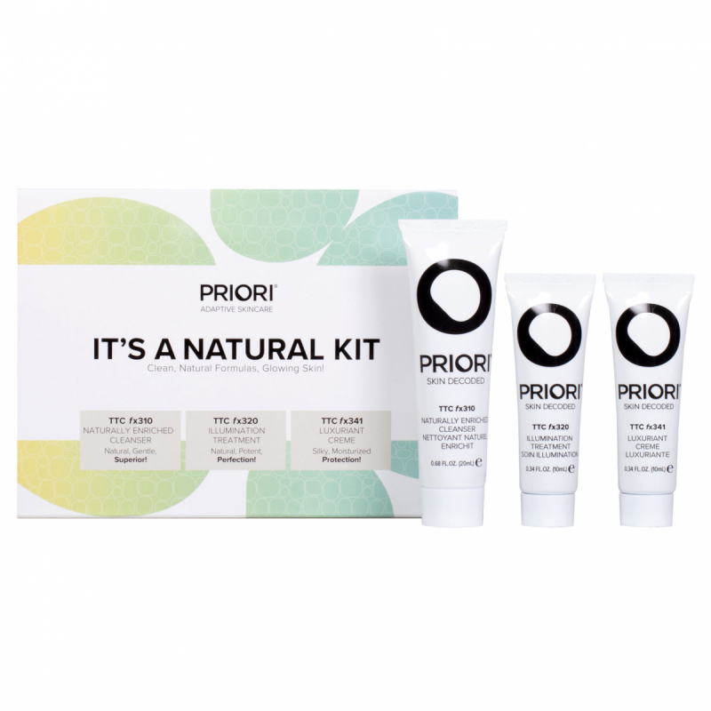 PRIORI Its A Natural Kit i gruppen Hudpleie / Gift set & kits / Start kits hos Bangerhead.no (B054225)