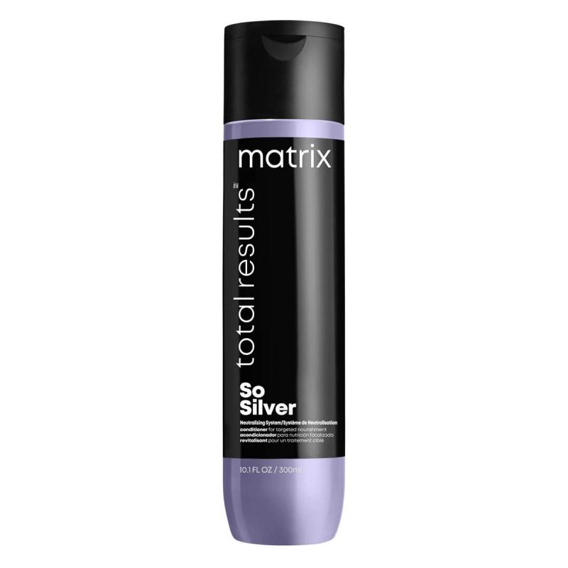 Matrix Total Results So Silver Conditioner (300ml)  ryhmässä Hiustenhoito / Shampoot & hoitoaineet / Hoitoaineet at Bangerhead.fi (B054261)