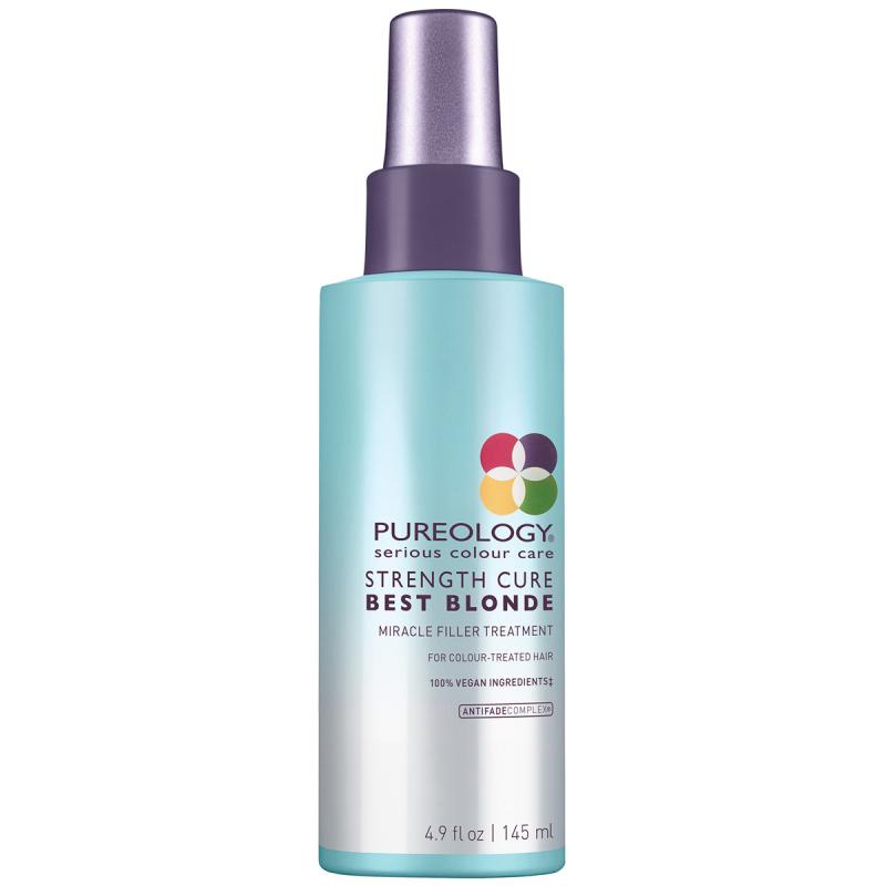 Pureology Strength Cure Best Blonde Miracle Filler (145ml) ryhmässä Hiustenhoito / Hiusnaamiot ja hoitotuotteet / Hoitotiivisteet at Bangerhead.fi (B055322)