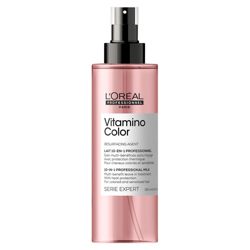 L'Oréal Professionnel Serie Expert Vitamino Color 10-In-1 (190ml) ryhmässä Hiustenhoito / Hiusnaamiot ja hoitotuotteet / Hoitotiivisteet at Bangerhead.fi (B055417)