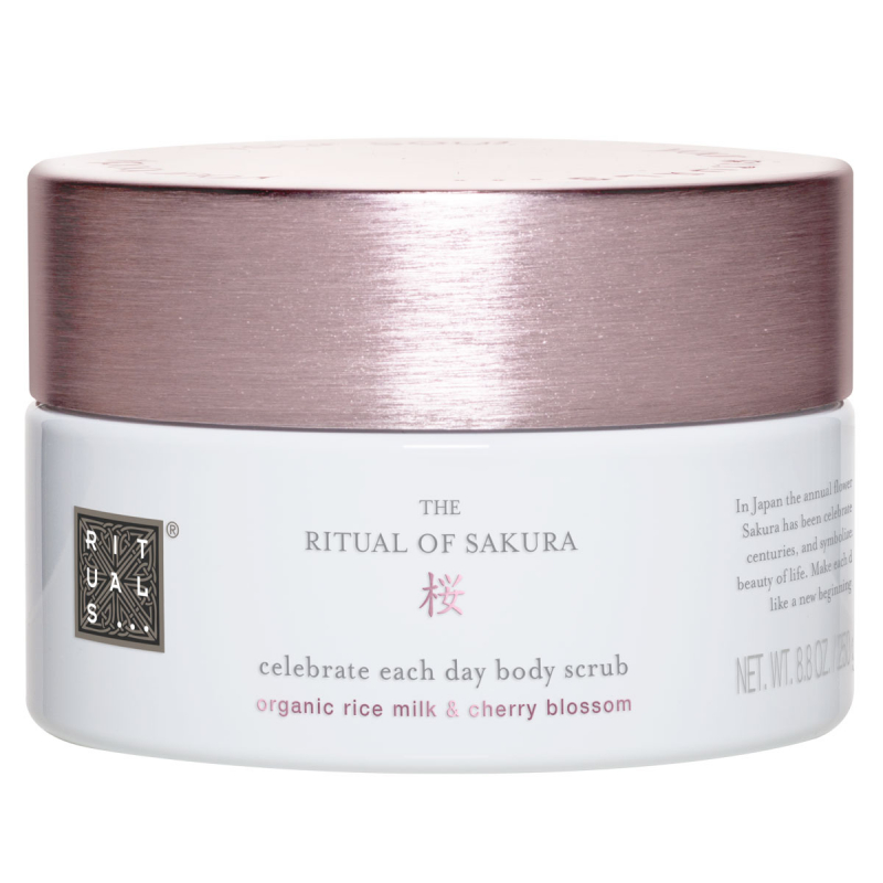 Rituals The Ritual Of Sakura Body Scrub (250g) i gruppen Editor's choice / Hitta rätt julklapp från Rituals / Rituals-julklappar till dig själv hos Bangerhead (B055462)