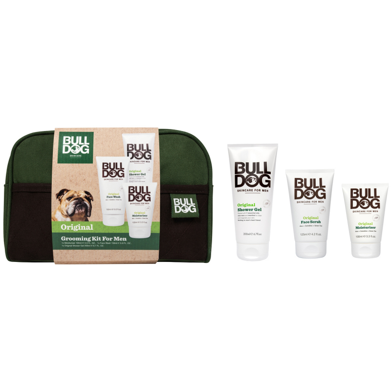 Bulldog Original Wash Bag ryhmässä Ihonhoito / Lahjat & ihonhoitosetit / Lahjapakkaukset at Bangerhead.fi (B055651)
