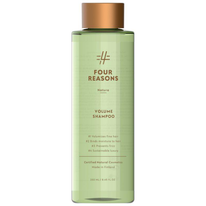 Four Reasons Nature Volume Shampoo (250ml) i gruppen Hårpleie / Shampoo  / Shampoo hos Bangerhead.no (B056496)