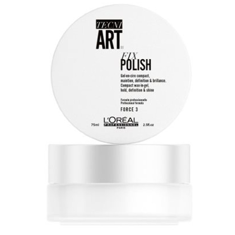 L'Oréal Professionnel Tecni.Art Fix Polish (75ml) ryhmässä Hiustenhoito / Muotoilutuotteet / Geelit at Bangerhead.fi (B056803)
