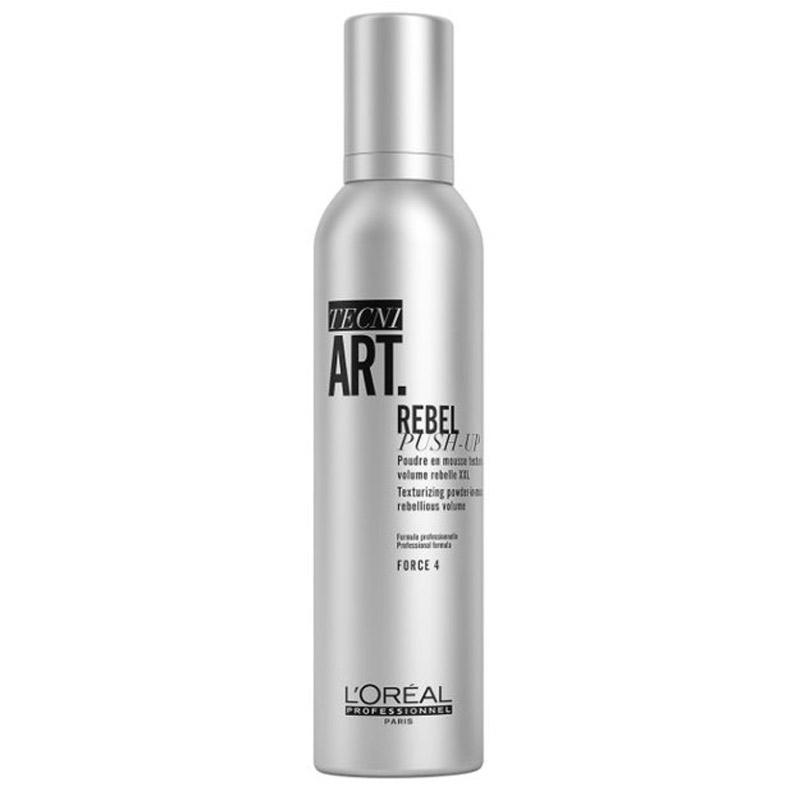 L'Oréal Professionnel Tecni.Art Rebel Push-Up (250ml) ryhmässä Hiustenhoito / Muotoilutuotteet / Muotoiluvaahdot at Bangerhead.fi (B056804)