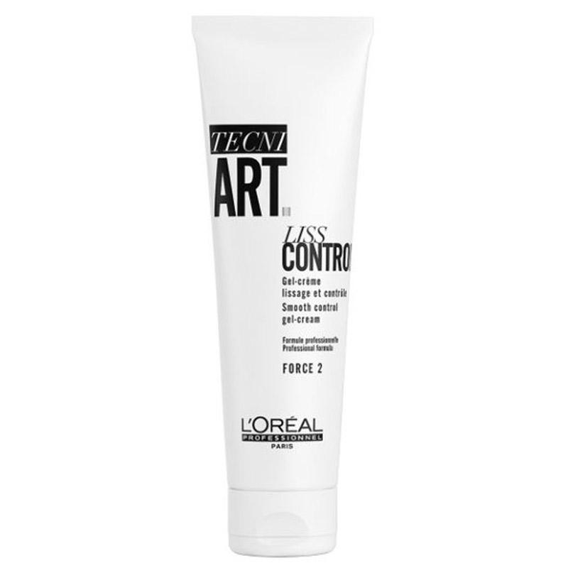 L'Oréal Professionnel Tecni.Art Liss Control (150ml) ryhmässä Hiustenhoito / Muotoilutuotteet / Geelit at Bangerhead.fi (B056805)