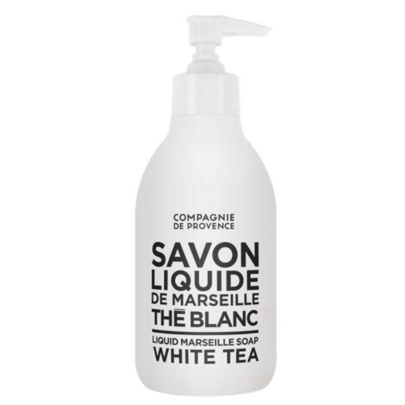 Compagnie de Provence Liquid Soap White Tea  i gruppen Kroppsvård / Handvård & fotvård / Handtvål hos Bangerhead (B016870r)