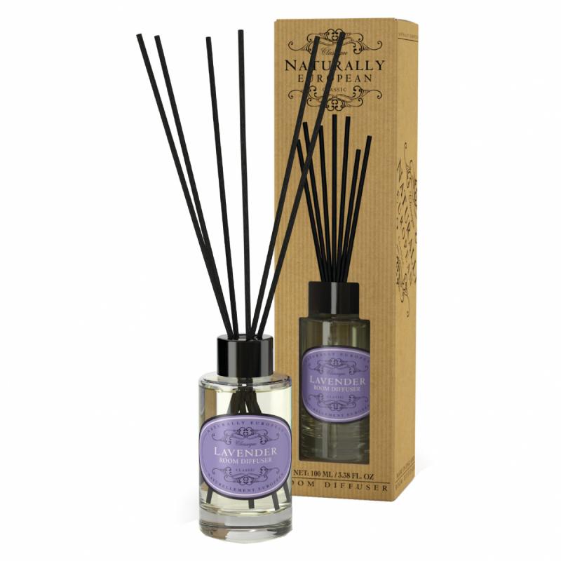 Naturally European Diffuser Lavender (100ml) i gruppen Parfym & doft / Doftljus & doftpinnar / Doftpinnar hos Bangerhead (B058147)