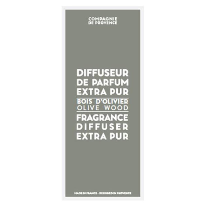 Compagnie de Provence Fragrance Diffuser Olive Wood (100ml) i gruppen Parfym & doft / Doftljus & doftpinnar / Doftpinnar hos Bangerhead (B058298)