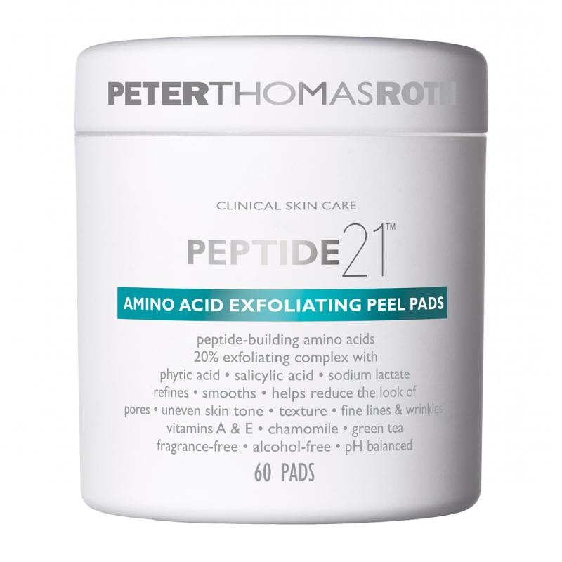 Peter Thomas Roth Peptide 21 Exfoliating Peel Pads (60pcs) ryhmässä Ihonhoito / Kasvojen kuorinta / Kuorintalaput at Bangerhead.fi (B059224)