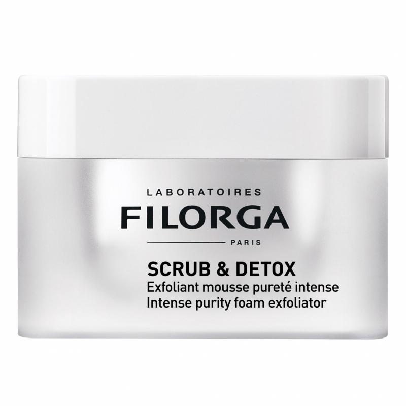 Filorga Scrub & Detox (50ml) i gruppen Hudvård / Ansiktsmask / Lermask hos Bangerhead (B059344)