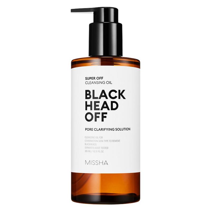 Missha Super Off Cleansing Oil Blackhead Off (305ml) i gruppen Hudvård / K-Beauty / Rengöringsolja hos Bangerhead (B060013)