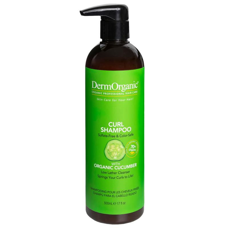 Dermorganic Curl Cleanser Shampoo i gruppen Hårvård / Schampo  / Schampo hos Bangerhead (B022305r)
