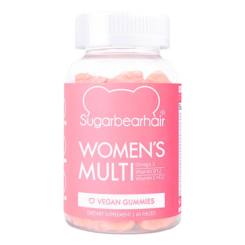 Sugarbearhair Women's multivitamin (60pcs) ryhmässä Kampanjat / Jopa 25% alennusta kauneussuosikeista at Bangerhead.fi (B060870)