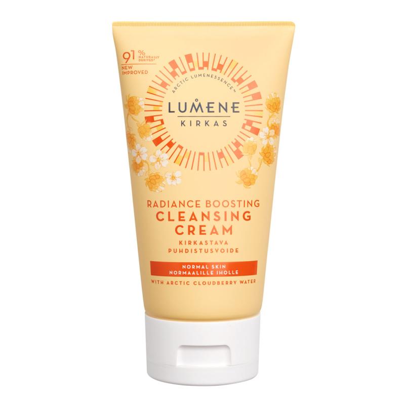 Lumene KIRKAS Radiance Boosting Cleansing Cream (150ml) i gruppen Hudvård / Ansiktsrengöring / Rengöringskräm hos Bangerhead (B060931)