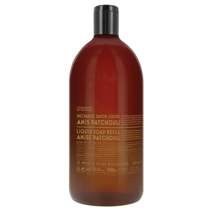 Compagnie de Provence Liquid Soap Anise Patchouli i gruppen Kroppspleie  / Hender & føtter / Håndsåpe hos Bangerhead.no (B016883r)