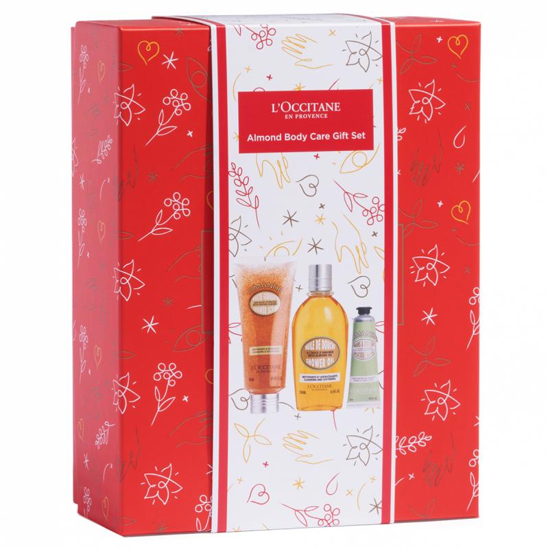 L'Occitane Almond Body Gift Set ryhmässä Editor's choice / Valmistaudu jouluun L'Occitanen johdolla at Bangerhead.fi (B062582)
