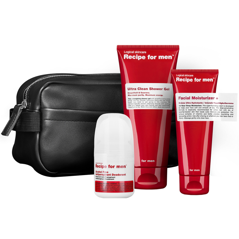 Recipe For Men Face & Body Kit 2020 i gruppen Julklappar / Julklappar till pojkvän hos Bangerhead (B062838)