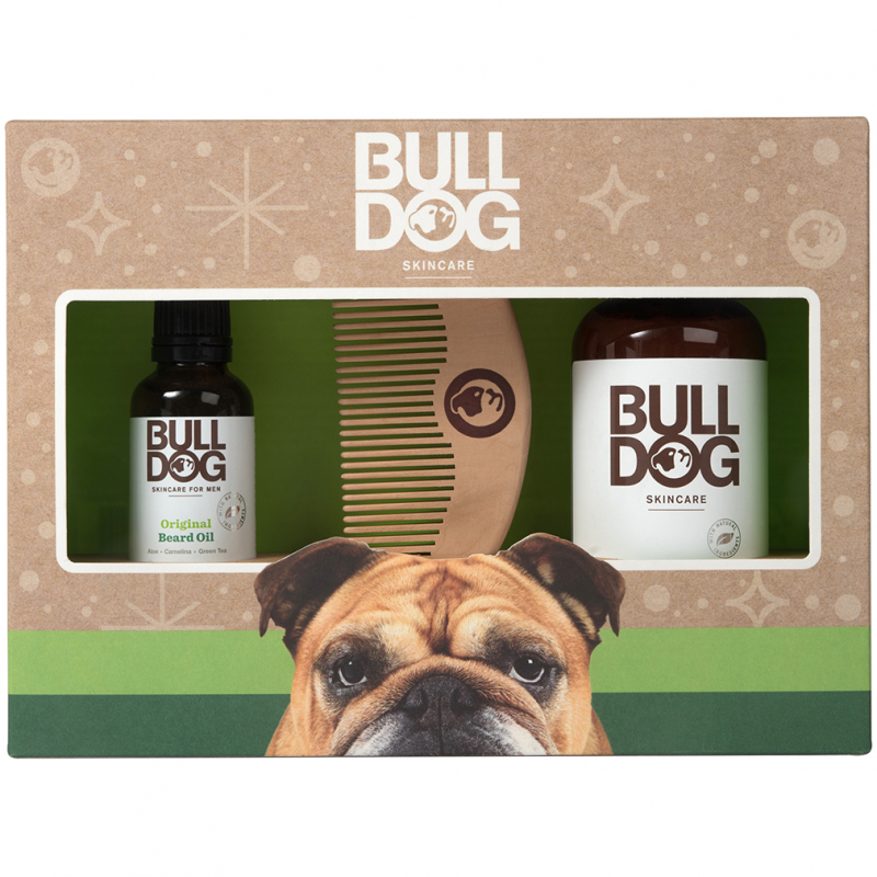 Bulldog Original Beard Care Kit i gruppen Man / Presenter & hårvårdsset hos Bangerhead (B062840)