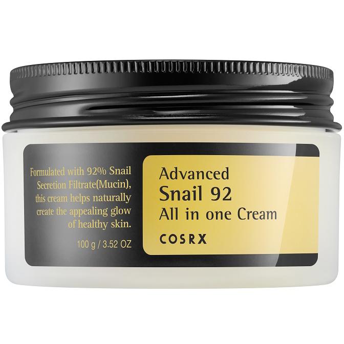 CosRx Advanced Snail 92 All in one Cream (100ml) ryhmässä Ihonhoito / K-Beauty Ihonhoito / 24 tunnin voiteet at Bangerhead.fi (B063342)