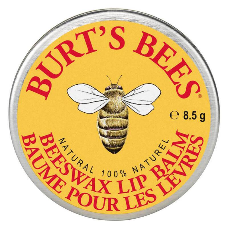 Burt's Bees Lip Balm Beeswax Tin i gruppen Makeup / Lepper / Leppebalm hos Bangerhead.no (BB03140)