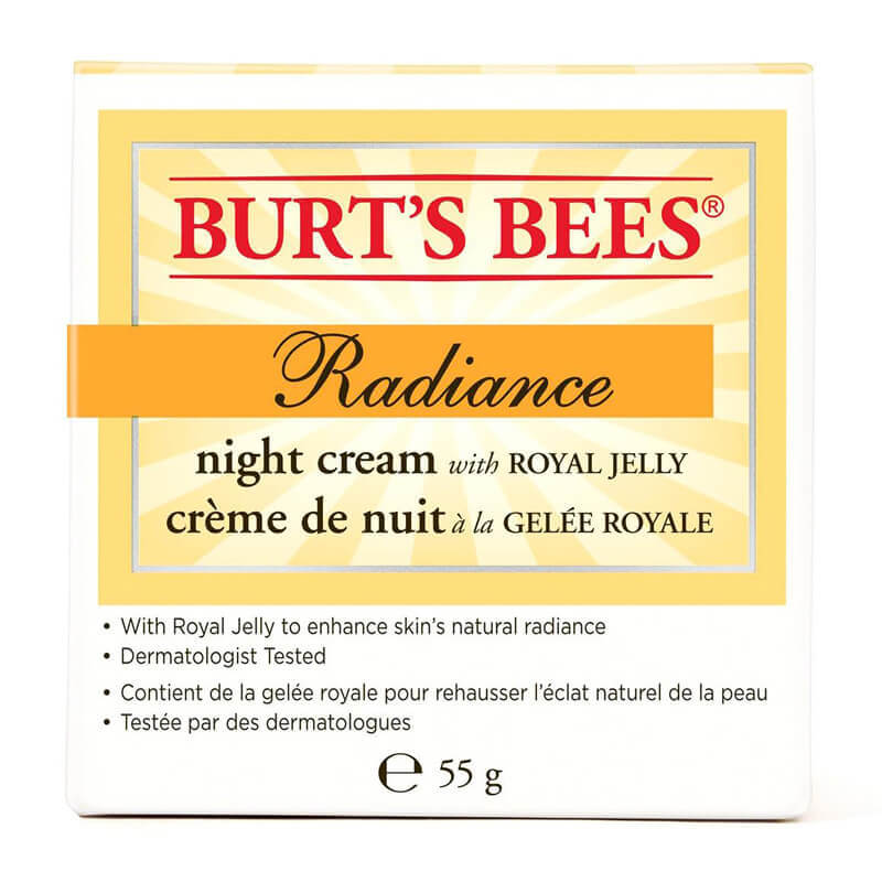 Burt's Bees Radiance Night Creme i gruppen Hudpleie / Ansiktsfukt / Nattkrem hos Bangerhead.no (BB18600)