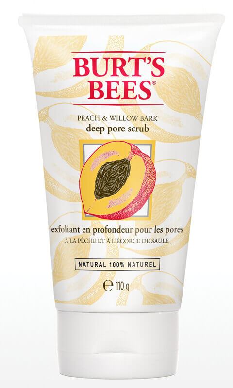 Burt's Bees Peach And Willow Bark Deep Pore Scrub i gruppen Hudv�rd / Masker & treatments / Scrub & peeling hos Bangerhead (BB89100)