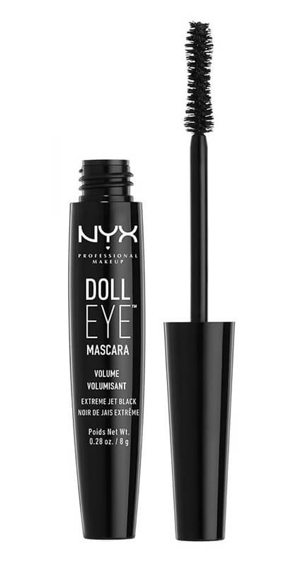 NYX Professional Makeup Doll Volume Mascara Black