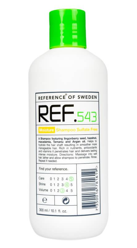 REF Moisture Shampoo 543 i gruppen Hårpleie / Shampoo & balsam / Shampoo hos Bangerhead.no (B008861r)