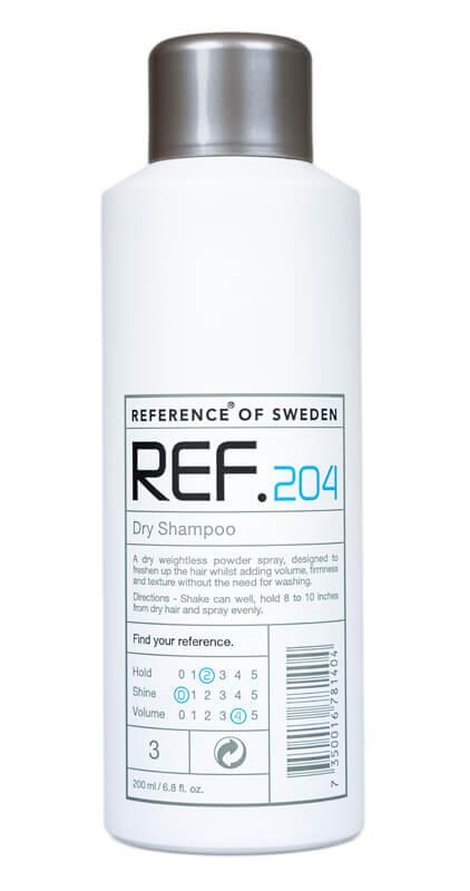 REF Dry Shampoo 204  i gruppen Hårvård / Schampo & balsam / Torrschampo hos Bangerhead (B008873r)