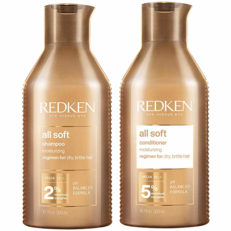 Redken All Soft Duo i gruppen Hårpleie / Shampoo & balsam / Shampoo hos Bangerhead.no (SA000022)