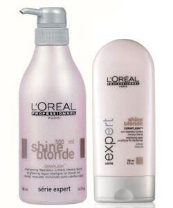L'Oréal Shine Blonde Duo XL i gruppen Hårpleie / Shampoo & balsam / Shampoo hos Bangerhead.no (SA000092)