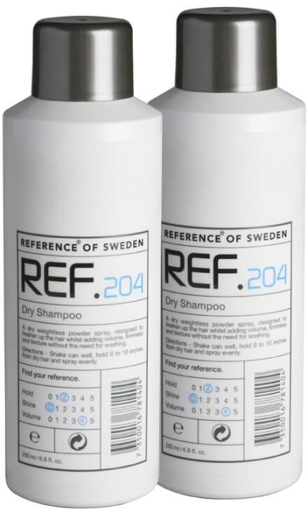 2 x REF Dry Shampoo 204 i gruppen Hårpleie / Shampoo & balsam / Tørrshampoo hos Bangerhead.no (SA000116)